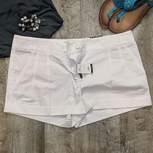 Express White Ladies Shorts